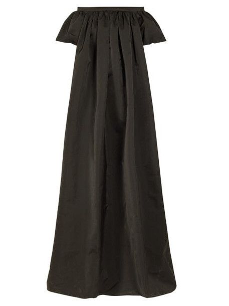 Rochas - Paradiso Off Shoulder Radzimir Gown - Womens - Black