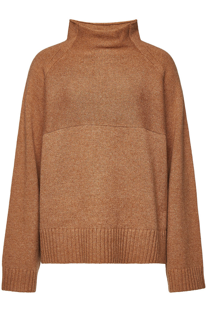 By Malene Birger Brianne Pullover with Merino Wool  in camel