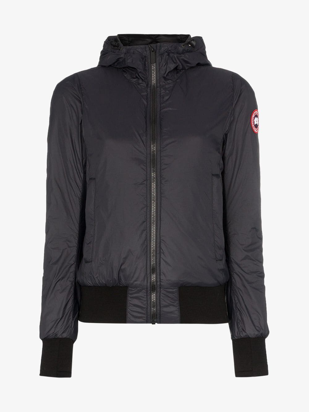 Canada Goose Dore hooded bomber jacket in black