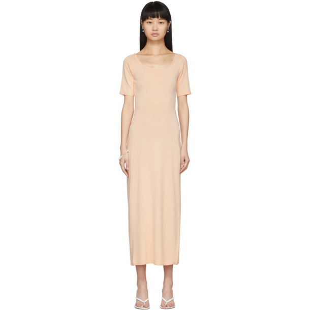 Lemaire Pink Second Skin Dress