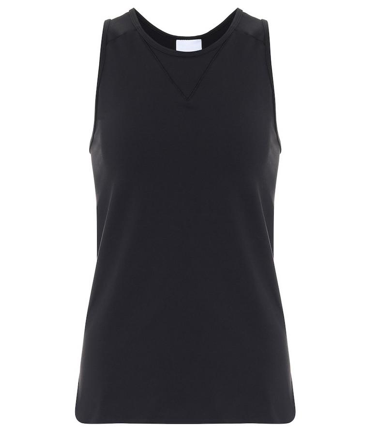 Reebok x Victoria Beckham Technical-jersey tank top in black