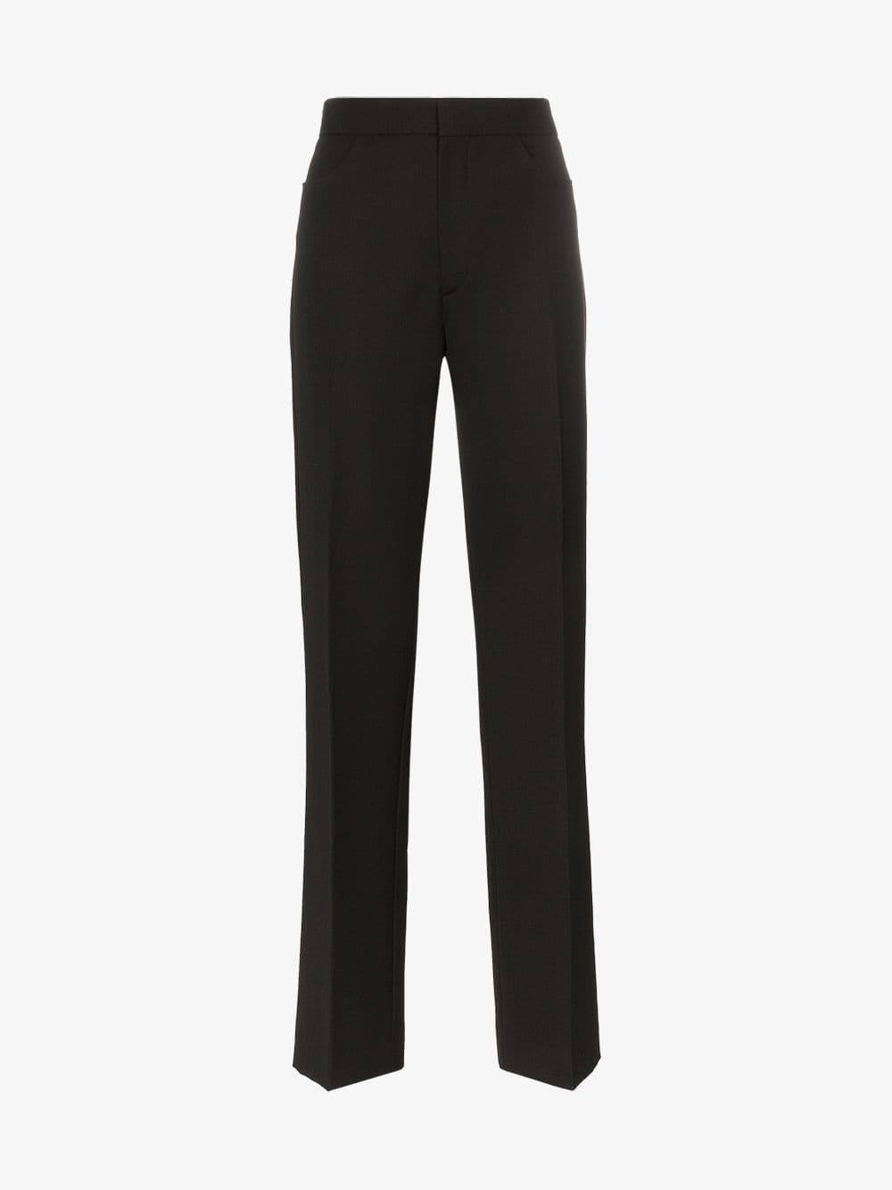 Toteme troia tailored wool-blend trousers in black