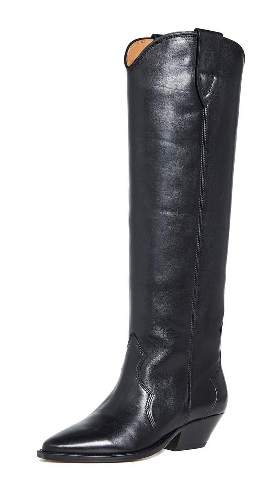 Isabel Marant Denvee Tall Boots in black