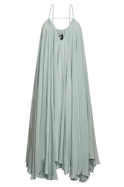 Jacquemus La Robe Belleza Midi Dress  in green
