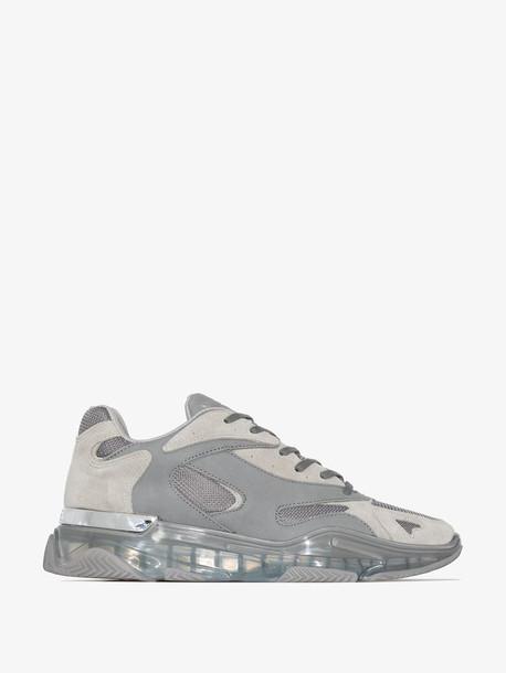 Mallet Footwear grey Kingsland suede sneakers