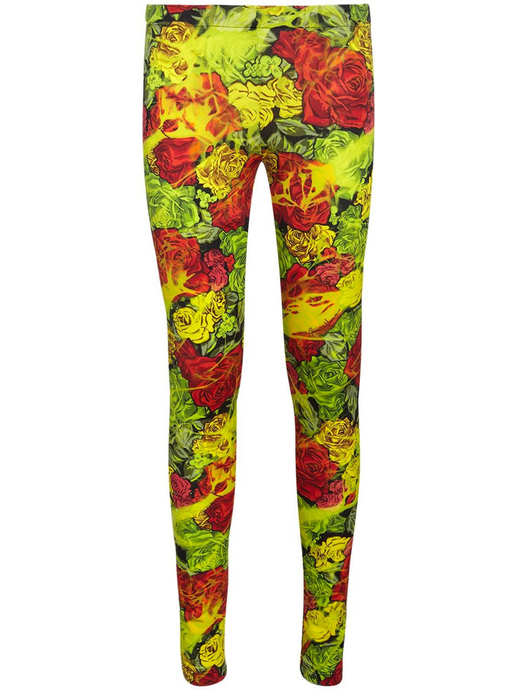 VERSACE Printed Jersey Leggings