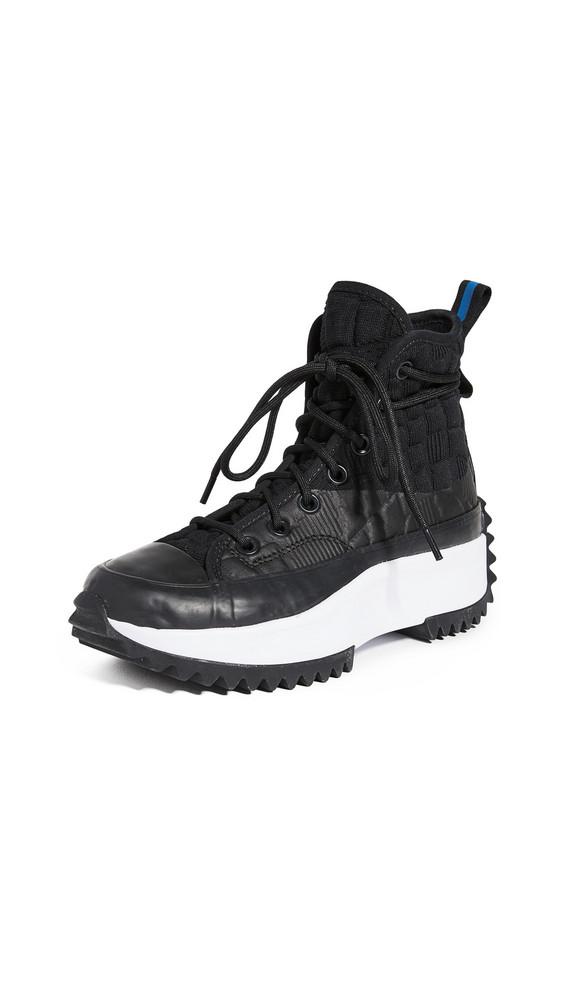 Converse Run Star Hike Digital Terrain Sneakers in black / white