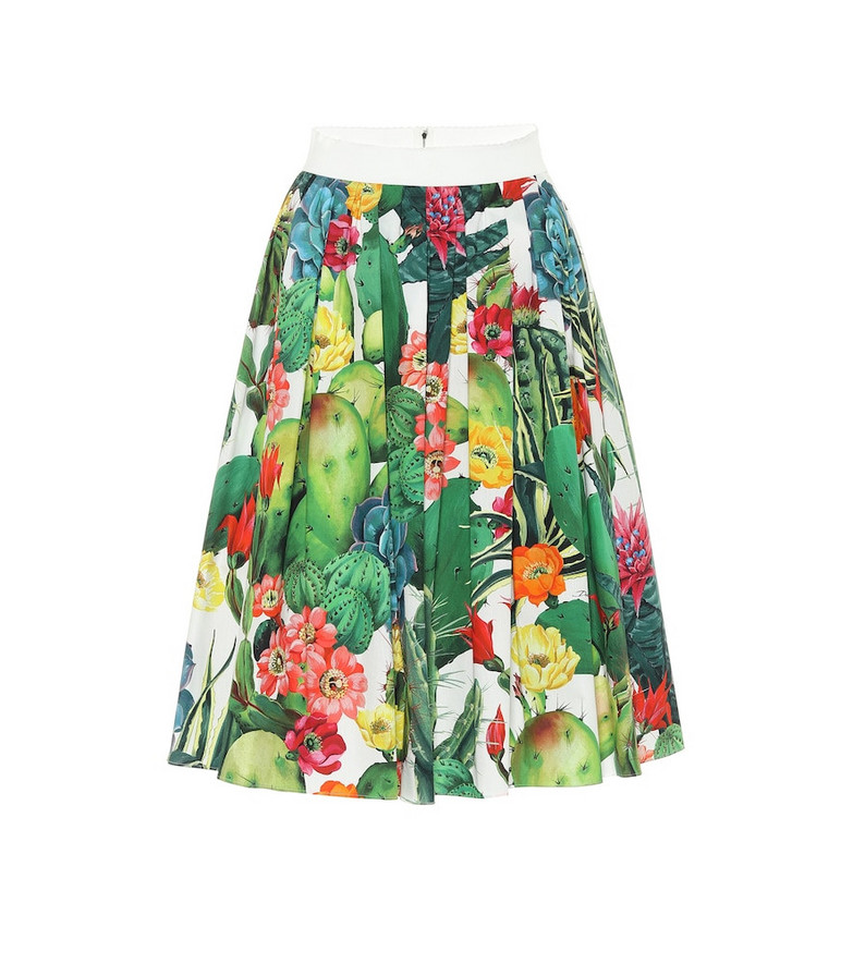 Dolce & Gabbana Exclusive to Mytheresa – Printed cotton midi skirt