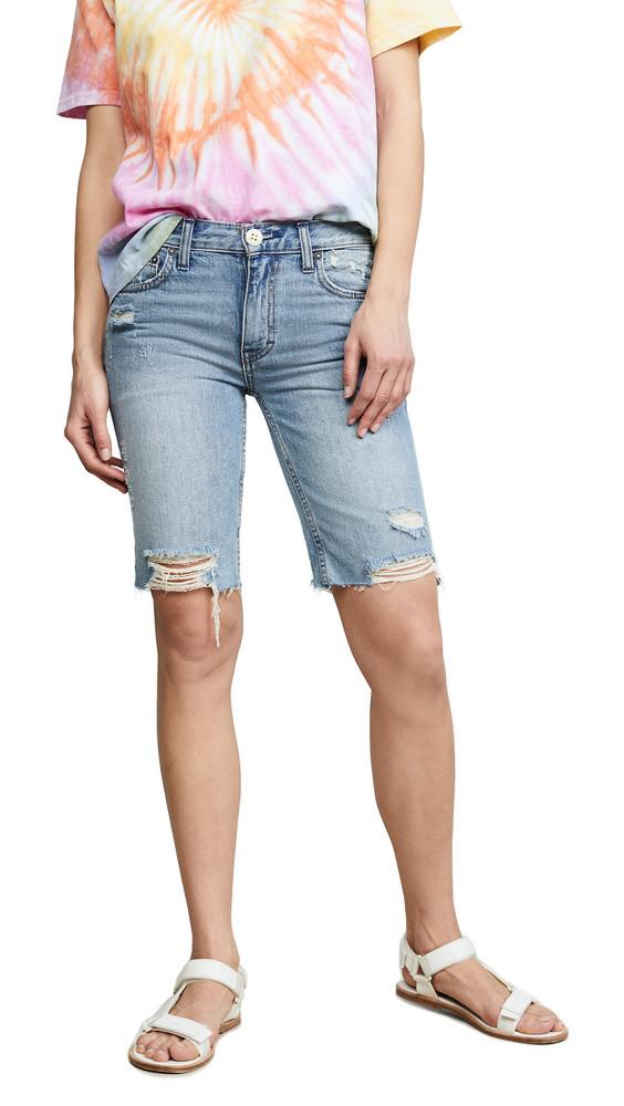 Free People Caroline Cut Off Shorts in denim / denim