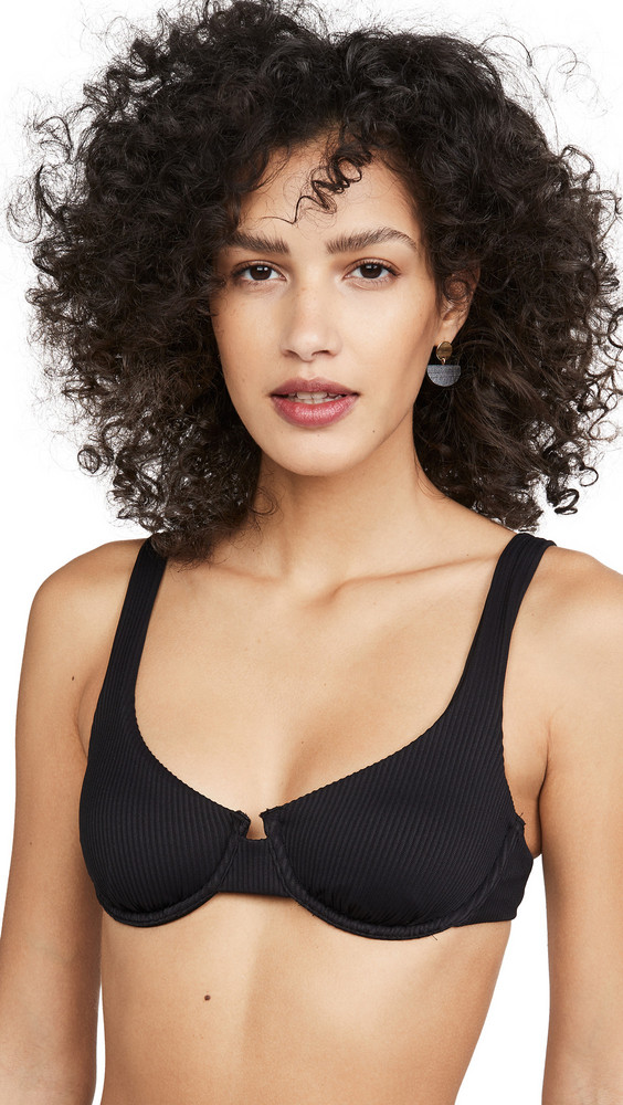 Charlie Holiday Lula Bra in black