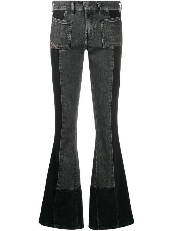 Diesel D-Ebbey bootcut jeans in black