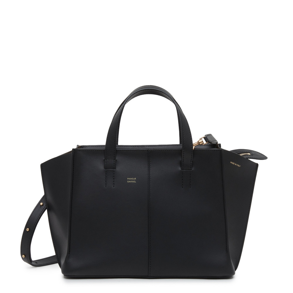 Mansur Gavriel Mini Zip Multitude Tote - Cammello