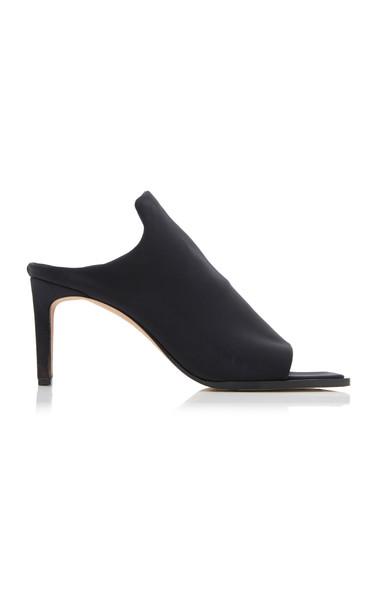 Tibi Andre Lycra Sandals in black