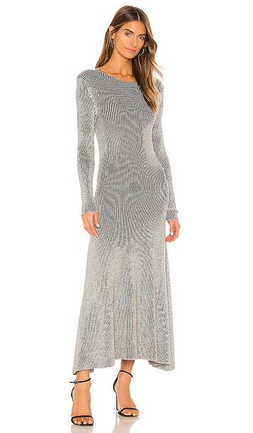 Mara Hoffman Jasmine Dress in Grey,Black