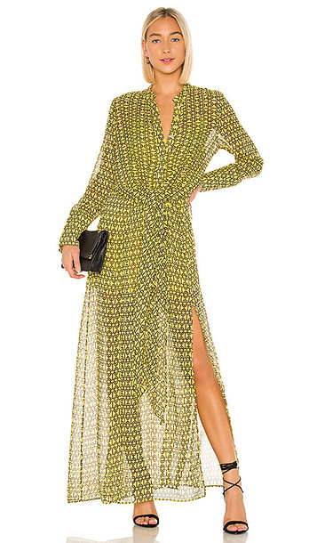 L'Academie The Lumiere Maxi Dress in Yellow