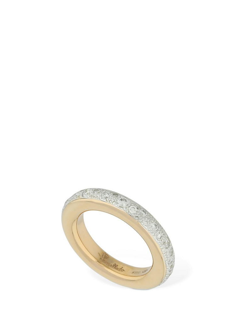 POMELLATO Iconica 18kt Rose Gold & Diamond Ring