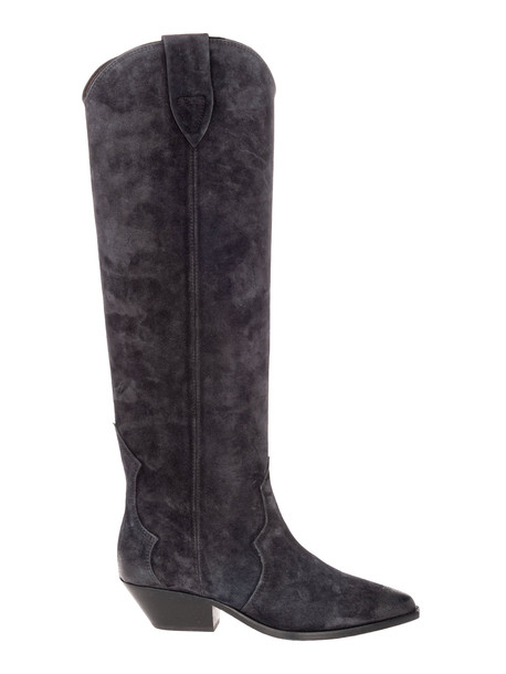 Isabel Marant Denvee Knee-high Boots in black