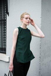 top,women tops,silk top,green top,women clothing,fashion clothing,online fashion store