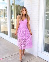 dress,midi dress,lace dress,sleeveless dress,sandal heels