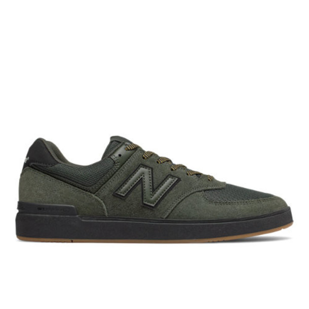 New Balance All Coasts 574 Men's Shoes - Green/Black (AM574BOV)