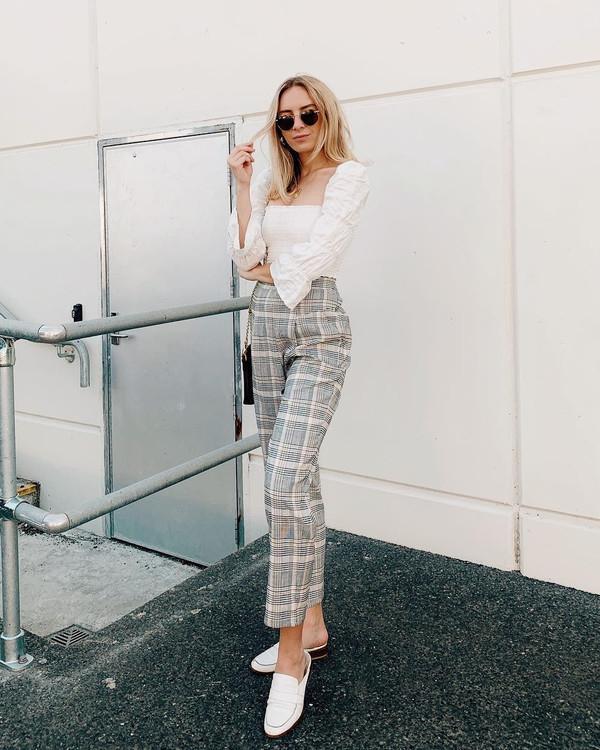 pants grey pants