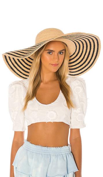 florabella Laurel Hat in Tan