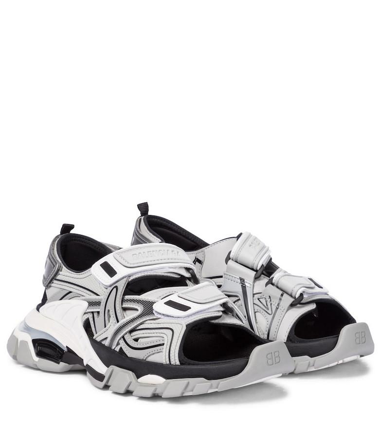 Balenciaga Track sandals in grey