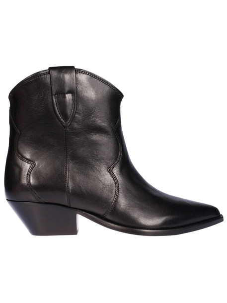 Isabel Marant Pointed Toe Ankle Boots in black
