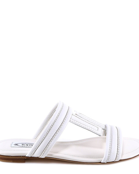 Tod's Sandals in white