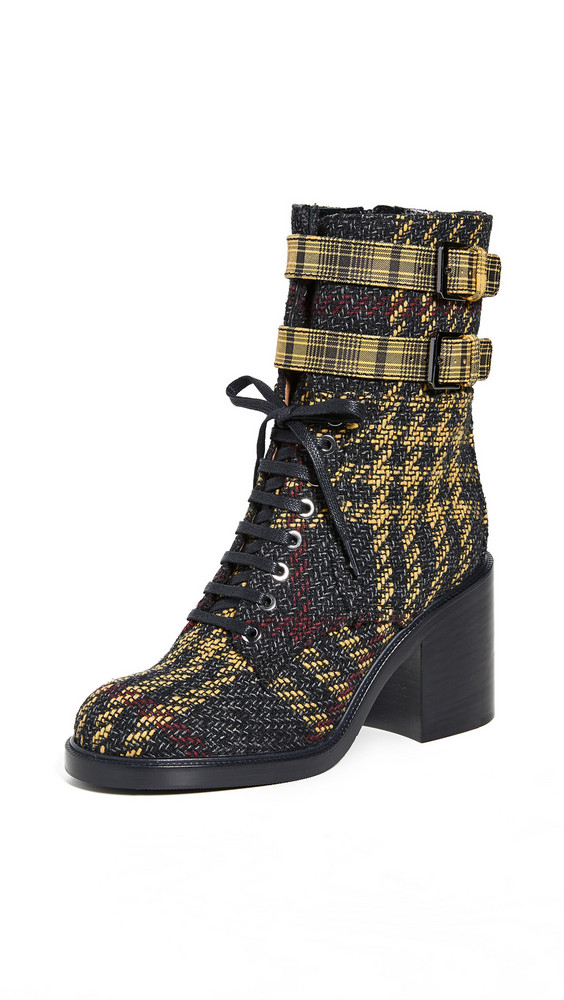 Laurence Dacade Pilar Boots in grey / yellow