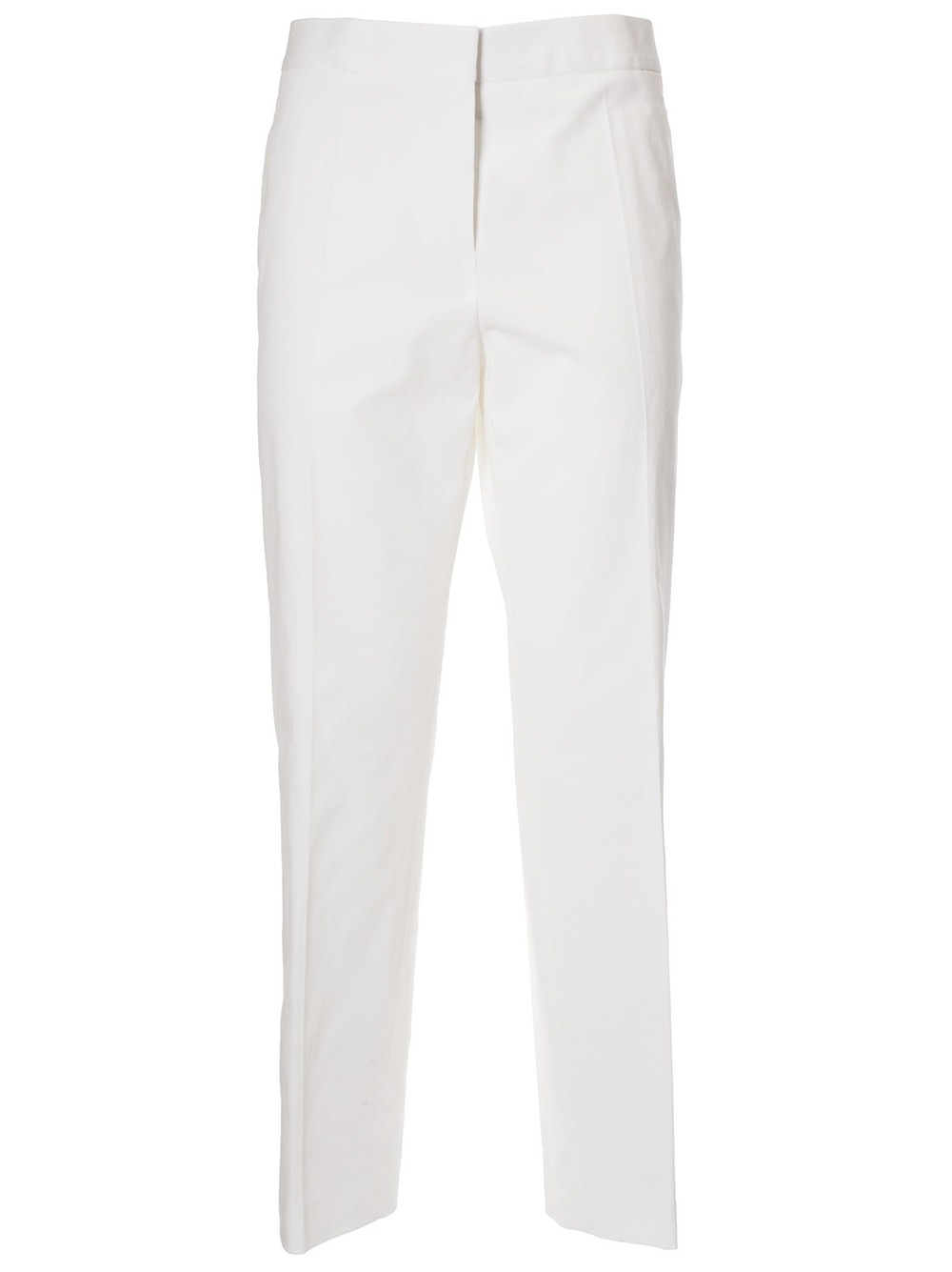 Jil Sander Classic Straight Trousers in natural