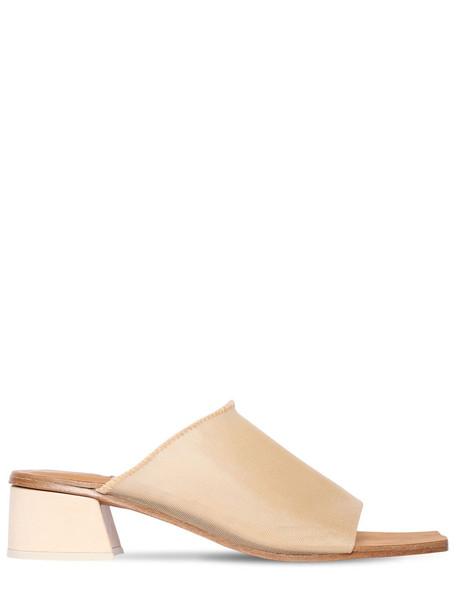 MIISTA 40mm Beck Mesh Mule Sandals