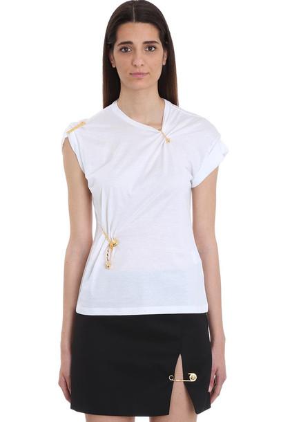 Versace White Jersey T-shirt