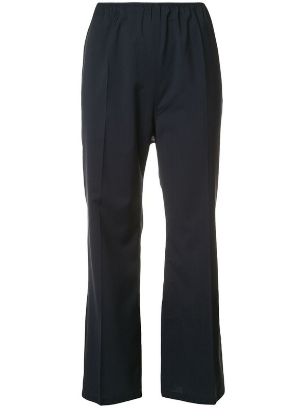 Sofie D'hoore creased cropped trousers in blue