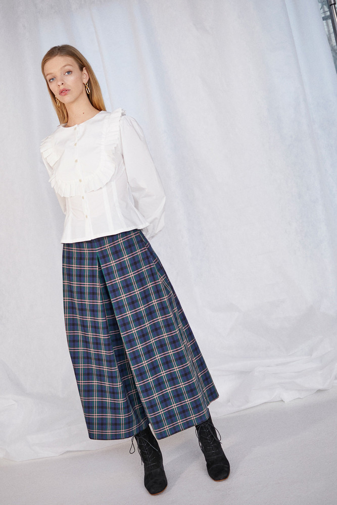 WHIT SUN PANT in CHELSEA PLAID NAVY
