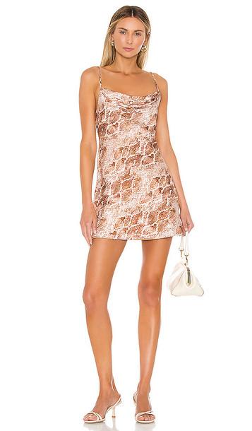 House of Harlow 1960 X REVOLVE Ira Mini Dress in Tan