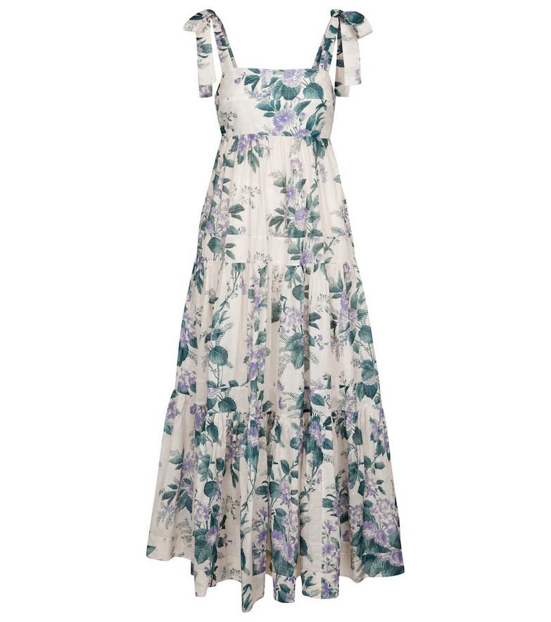 Zimmermann Cassia floral cotton dress