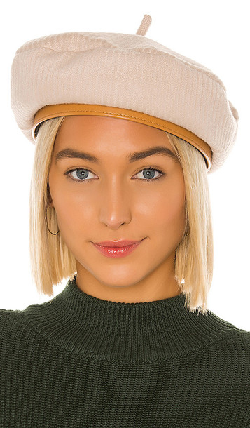 Brixton Audrey II Beret in Ivory