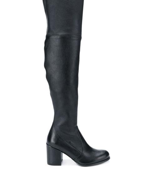 Stuart Weitzman thigh-high boots in black