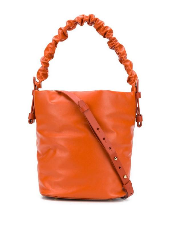 Nico Giani Adenia Large bucket bag in orange