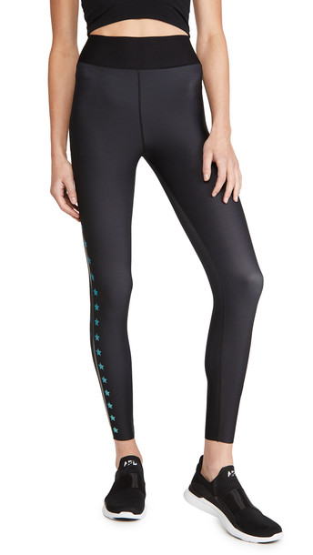 Ultracor Ombre Flash Ultra High Leggings in turquoise / transparent