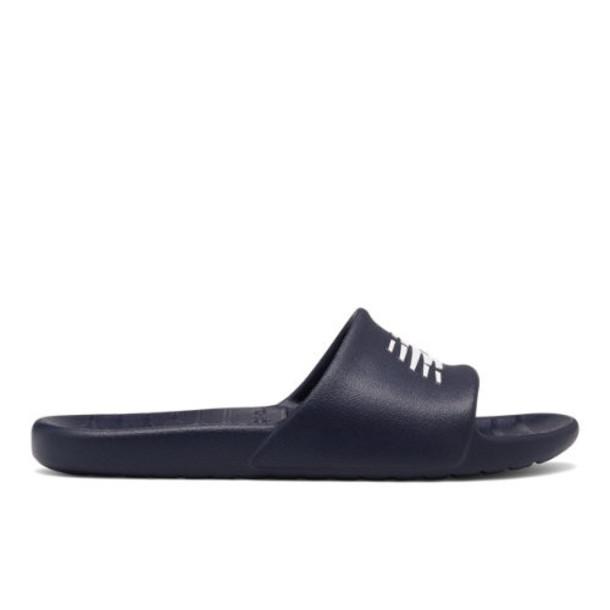 New Balance 100 Men's & Women's Slides Shoes - Navy/White (SUF100TN)