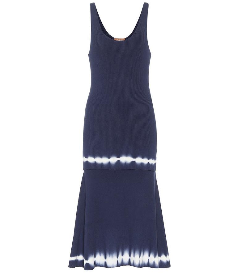 Altuzarra Shinobu cotton midi dress in blue