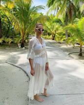 dress,maxi dress,long dress,see through,see through dress,swimwear,blogger style