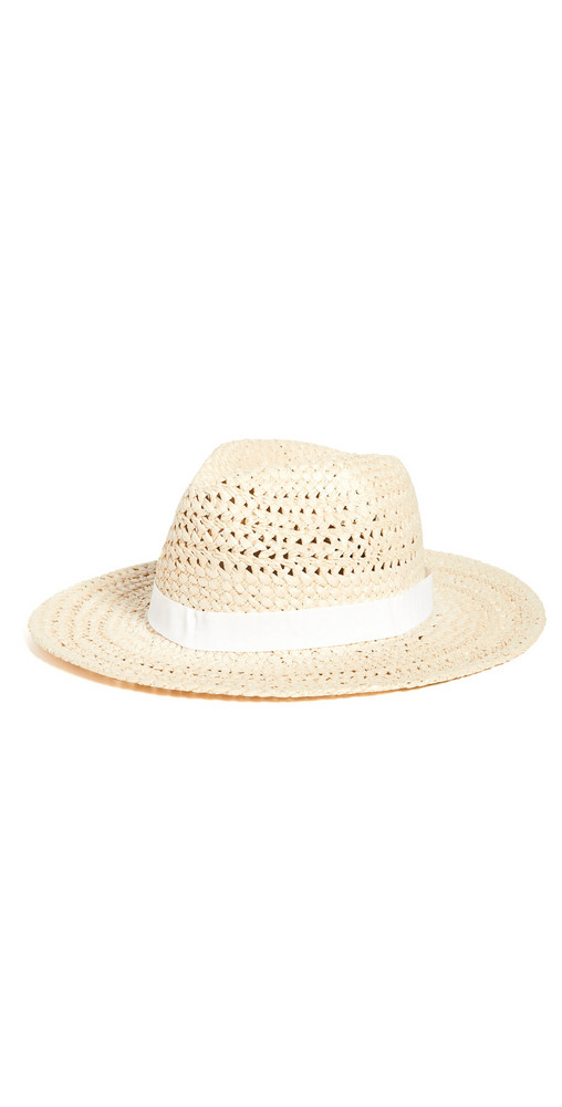 Hat Attack Ava Rancher Hat in natural / white