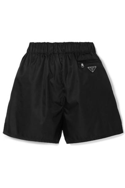 Prada - Shell Shorts - Black