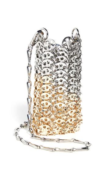 Paco Rabanne Mini 1969 Bag in gold / silver
