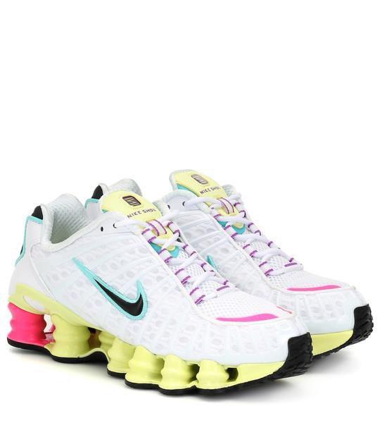Nike Shox TL sneakers in white