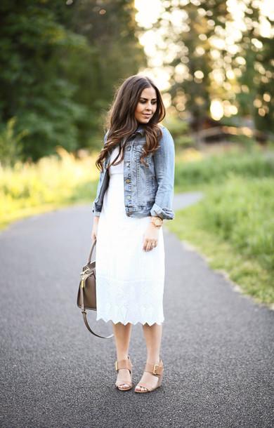 dress corilynn blogger dress jacket shoes bag jewels