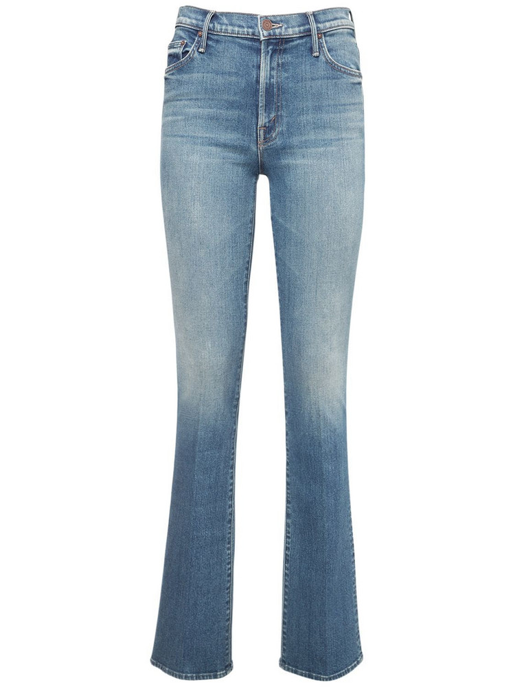 MOTHER The Insider Straight Jeans in blue